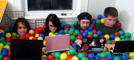 how to build a ball pit at home