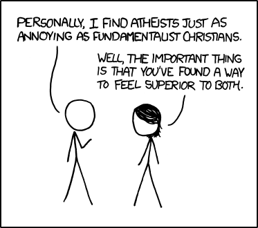 Atheists and christians