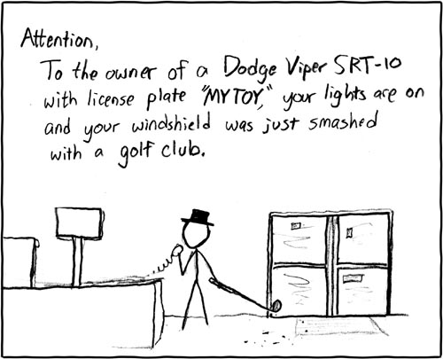 xkcd: Attention, shopper