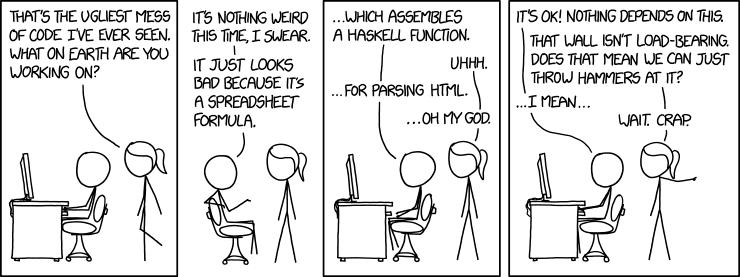 bad code humour