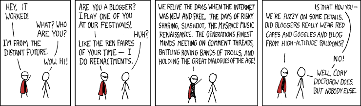 XKCD Blogger