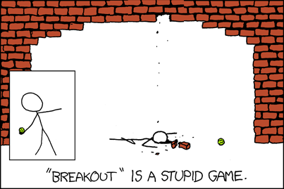 XKCD - breakout