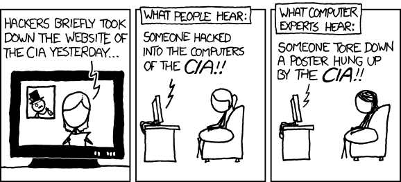 xkcd 932 - CIA