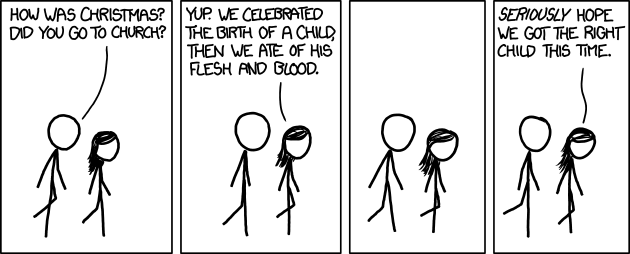 Comic - xkcd Communion