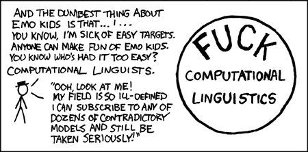 XKCD : Computational Linguists
