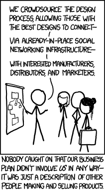 XKCD on crowdsourcing