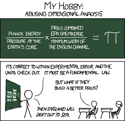 xkcd dimensional analysis