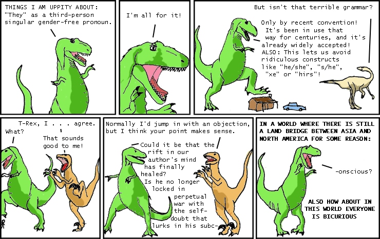 Parody Week: Dinosaur Comics