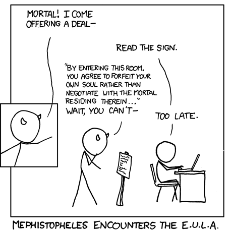 Devil and EULA