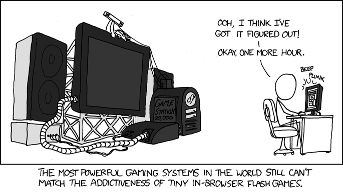 xkcd: flash games
