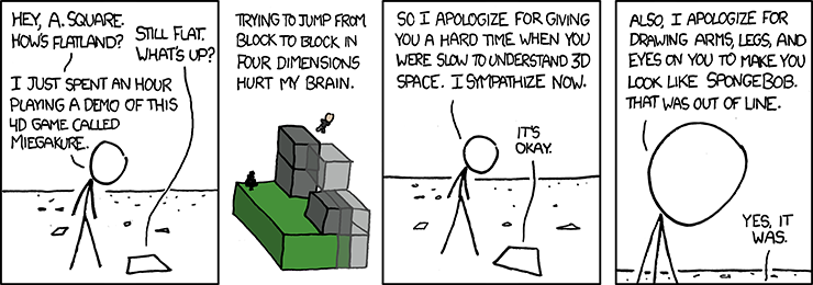 xkcd comic about Miegakure