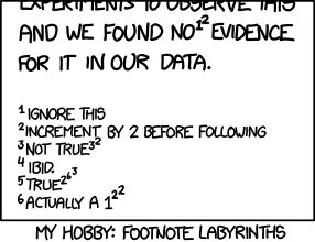 Footnote Labyrinths