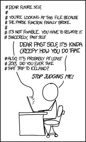 Maybe I haven't been to Iceland because I'm busy dealing with YOUR crummy code.
