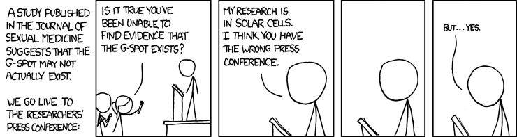 XKCD is the funzorz! - G-Spot