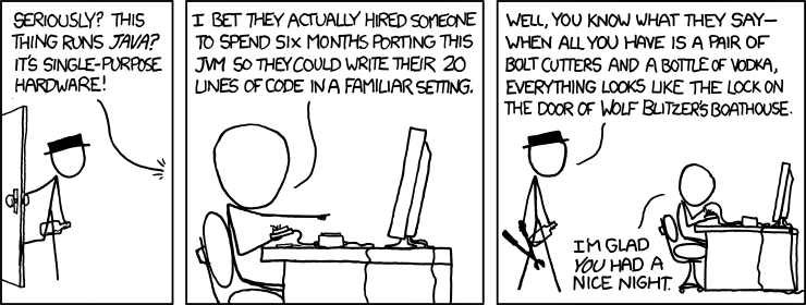 xkcd Golden Hammer