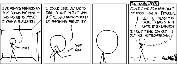 Home ownership according to xkcd