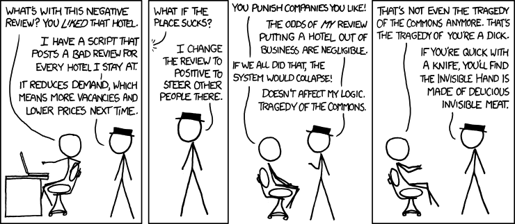 XKCD Hotels Invisible Hand