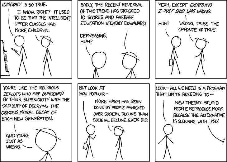 xkcd idiocracy cartoon