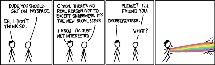 Join MySpace xkcd