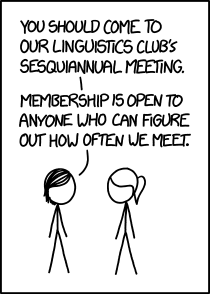 If that's too easy, you could try joining Tautology Club, which meets on the date of the Tautology Club meeting.