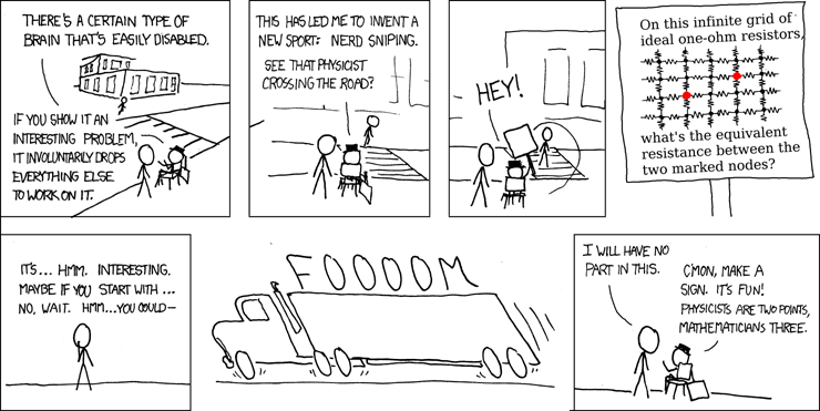 http://imgs.xkcd.com/comics/nerd_sniping.png