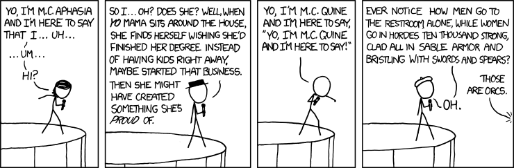 XKCD: Open Mic Night