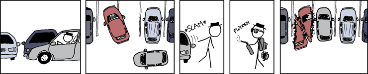 pic: XKCD on parking