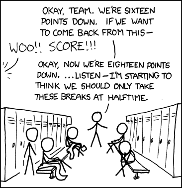 xkcd: Pep Talk