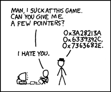 "The image ""http://imgs.xkcd.com/comics/pointers.png"" cannot be displayed, because it contains errors."