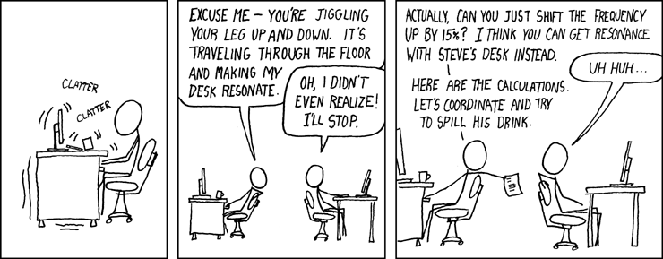 xkcd: Resonance