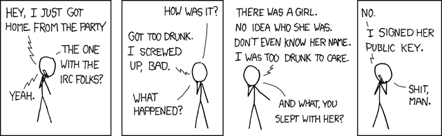 XKCD: Responsible Behavior