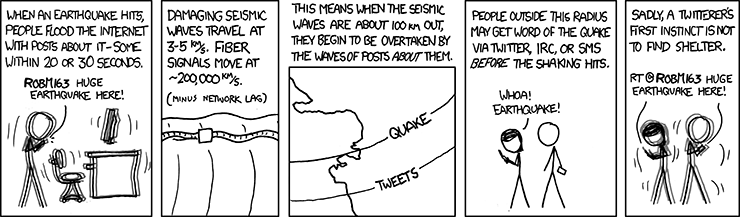 Seismic Waves via xkcd
