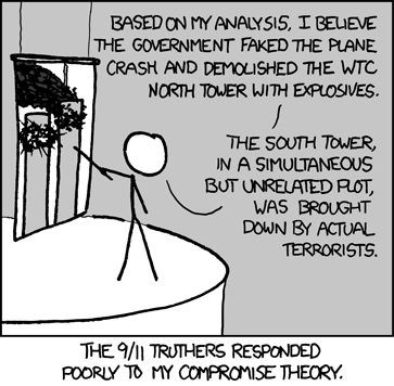 Semicontrolled Demolition of XKCD's reputation