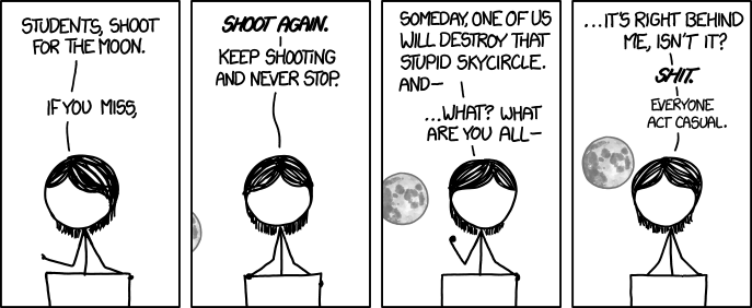 IMAGE(http://imgs.xkcd.com/comics/shoot_for_the_moon.png)
