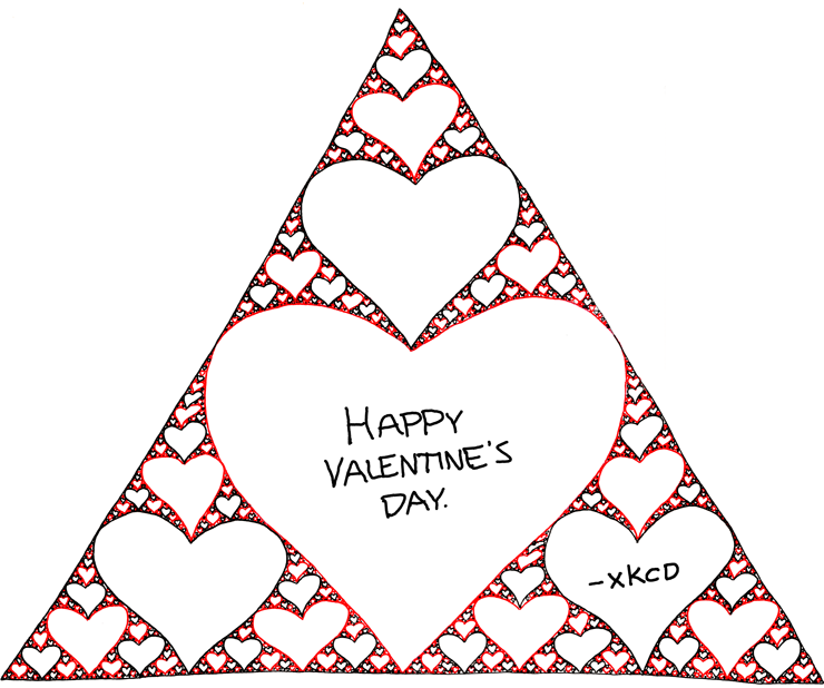 xkcd's Happy Valentine's Day