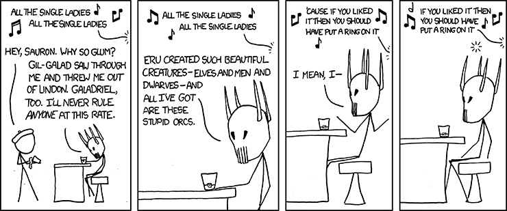 Single Ladies - XKCD