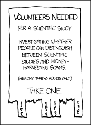 (Source: xkcd.com, Creative Commons licence.)
