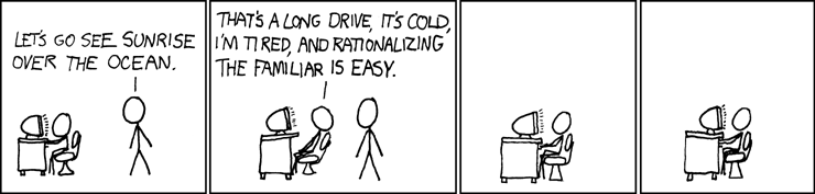Right on Randall Munroe!
