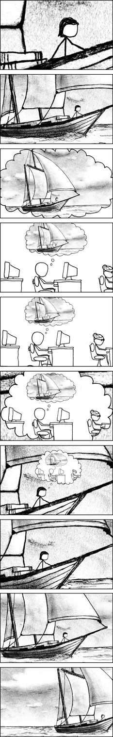 to be wanted · xkcd