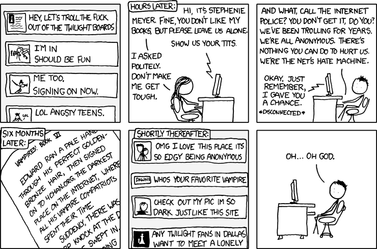 Troll Slayer | Probably The Best XKCD Comic. Ever. I Said Probably.
