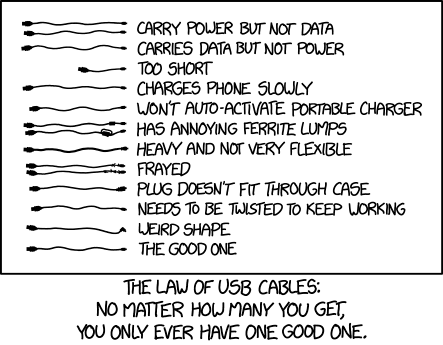 Xkcd Usb Cables