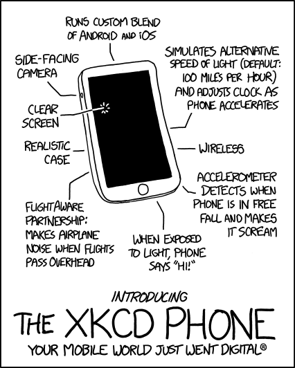 xkcd Phone