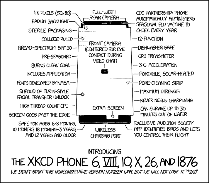 xkcd Phone 6