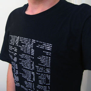 xkcd Linux cheat shirt