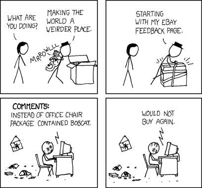 A-minus-minus cartoon by XKCD