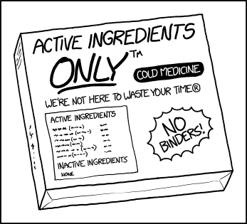 Active Ingredients Only