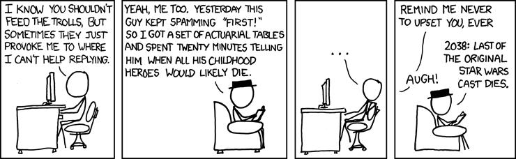 XCKD Actuarial comic