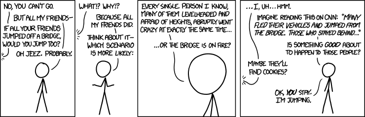 XKCD Comic - Bridge