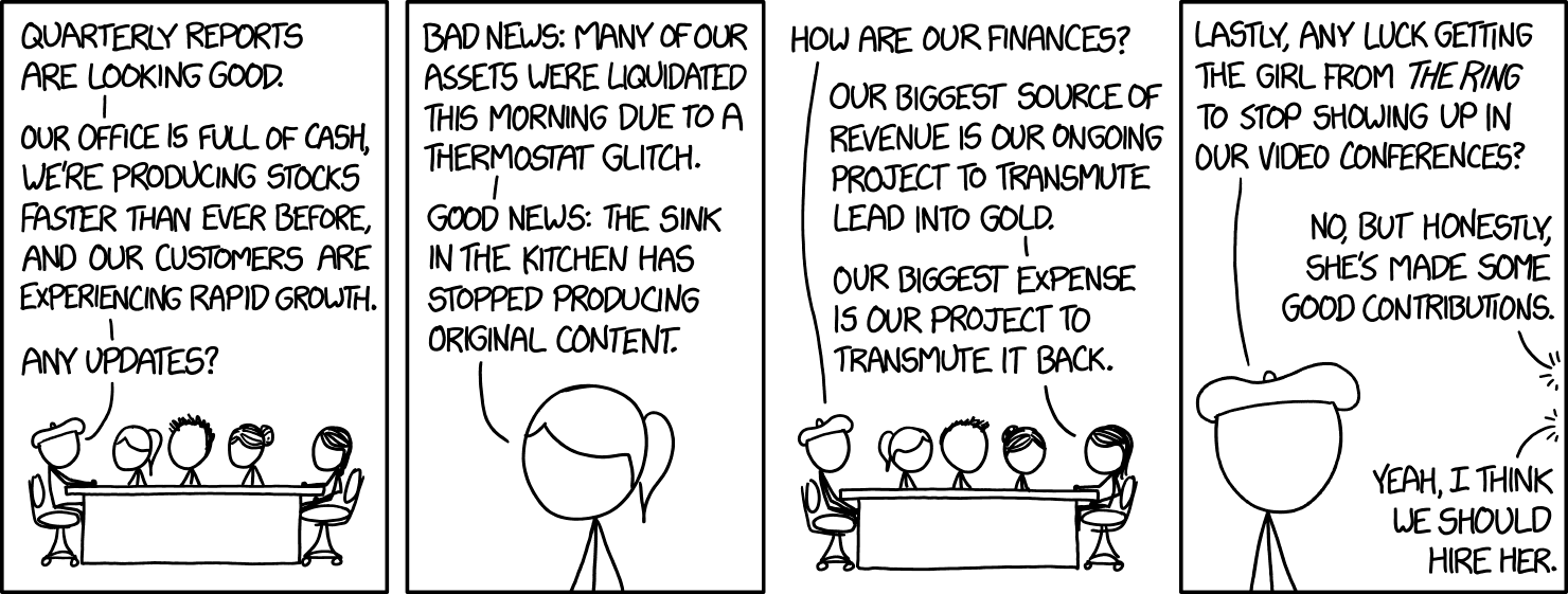 Xkcd Wtf Business Update