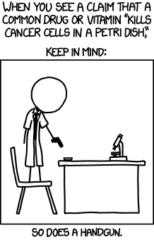 Causation or Correlation: Explaining Hill Criteria using xkcd